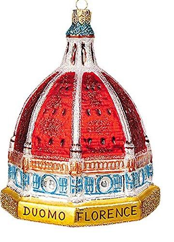 Basilica di Santa Maria Del Fiore Polish Mouth Blown Glass Christmas Ornament