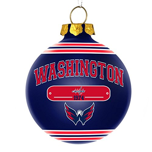 Washington Capitals Official NHL 2014 Year Plaque Ball Ornament by Forever Collectibles