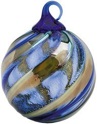 Glass Eye Studios Limited Edition Midnight Blue Glass Ornament – Delux Boxed