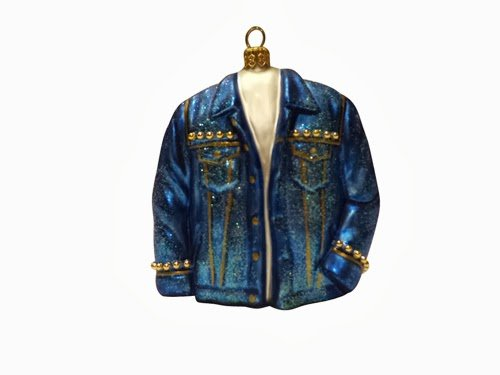 Ornaments to Remember: JEAN JACKET Christmas Ornament (Studded)