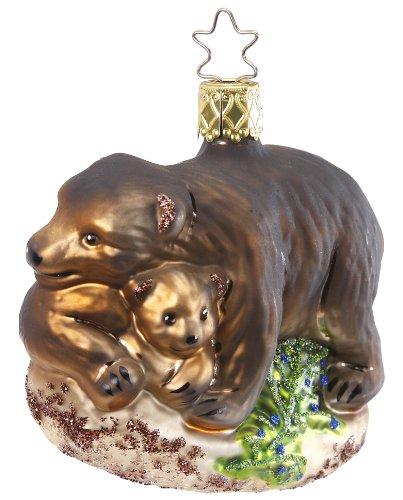 Bear Cuddle, #1-017-12, by Inge-Glas of Germany