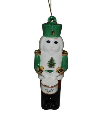 Spode Christmas Tree Nutcracker with Drum Ornament