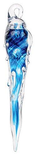 Glass Eye Studio Winter Sapphire Icicle Ornament