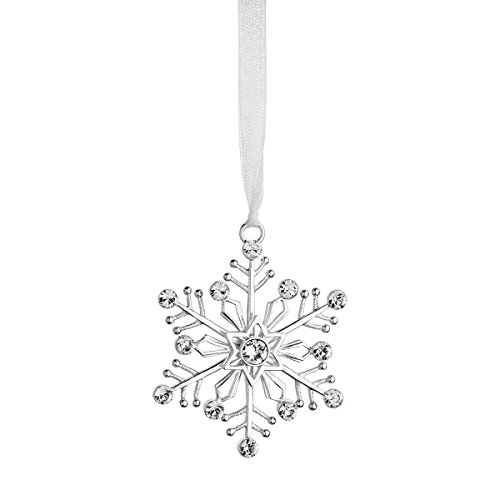 Reed & Barton LO412 Lunt Annual Jeweled Snowflake Ornament