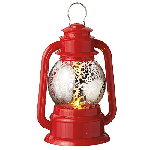 Red Lantern LED Light-up Acrylic Christmas Ornament