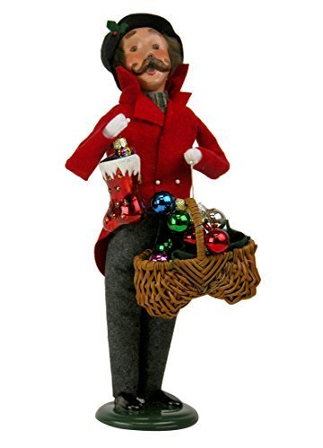 Byers Choice Caroler Man with Glass Ornaments 2015 by Byers' Choice Ltd.
