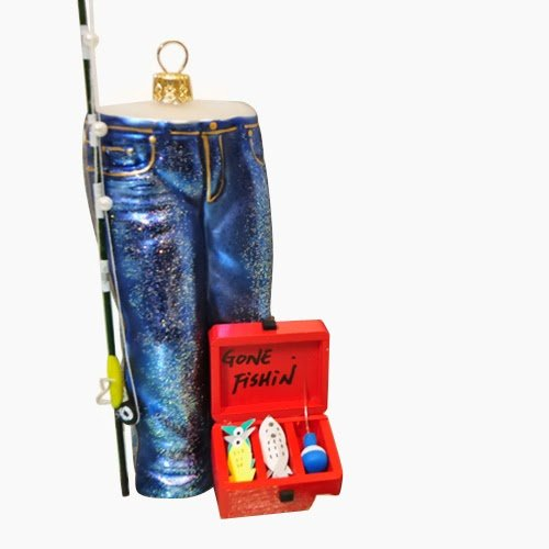Ornaments to Remember: JEANS Christmas Ornament (Gone Fishin')