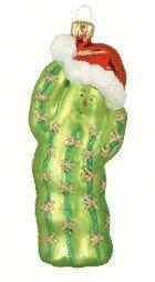 Margaret Cobane Glass Ornament – Christmas Cactus 2