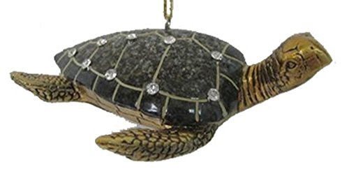 December Diamonds Brown Turtle Ornament