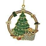 ChemArt 3.25″ Collectible Keepsakes 2015 Kitten's 1st Christmas Cat Ornament
