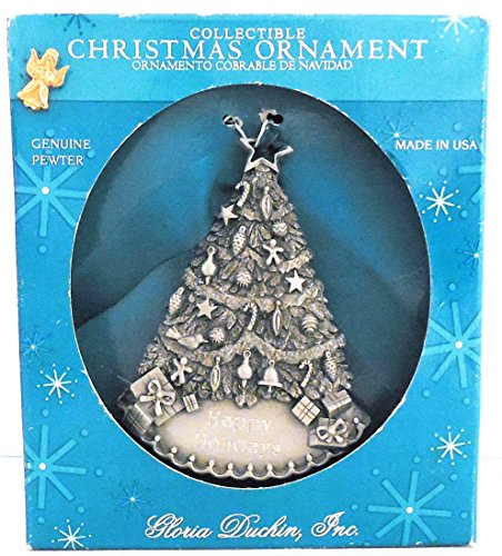 Gloria Duchin, Inc. Collectible Christmas Ornament Christmas Tree Made In U.S.A.