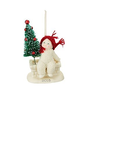 Department 56 Snowbabies 2015 Dated Ornament Tree Top