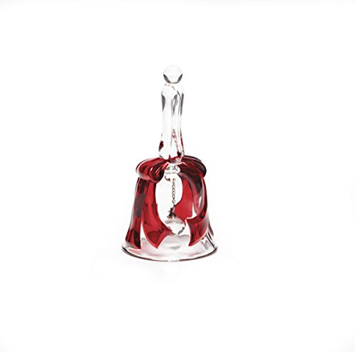 Mikasa Celebrations Ruby Ribbon Bell