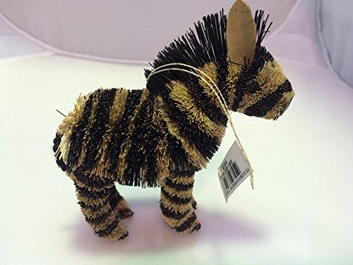 Martha Stewart Buri Zebra handmade ornament