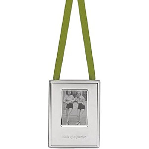 Kate Spade Silver Street Birds Of A Feather Ornament Frame 3.75 IN (9,5 CM)