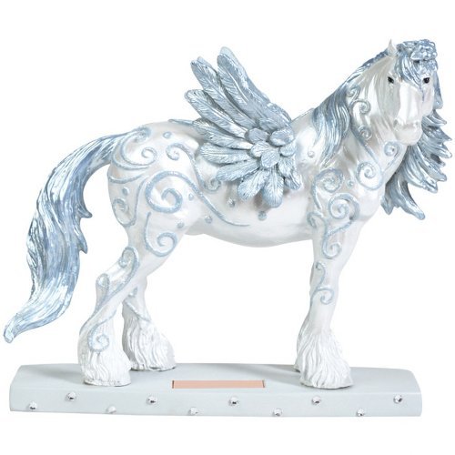 Westland Giftware Horse of a Different Color Figurine, 6.5-Inch, Angel Clydesdale