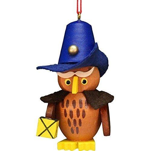 ULBR 10-0607 Christian Ulbricht Ornament – Owl Nightwatchman by Alexander Taron