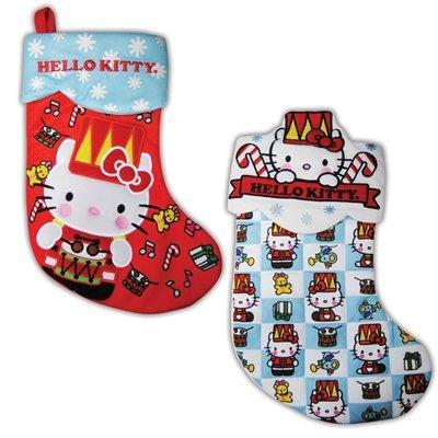 HELLO KITTY Hanging HOLIDAY 16″ STOCKING New Xmas Christmas NWT Style SIL-34245