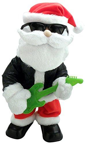 Chantilly Lane Santa Boss Sings Santa Claus is Coming to Town, 14″