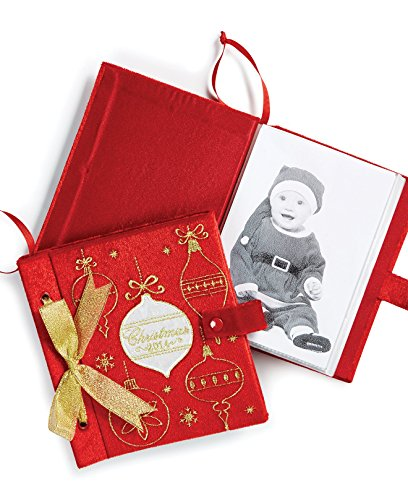 Holiday Lane Christmas 2014 Red Photo Album Ornament