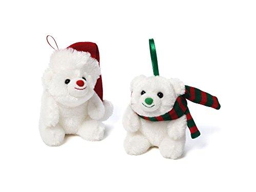 Mini Snuffles Christmas Plush Ornament, Set of 2