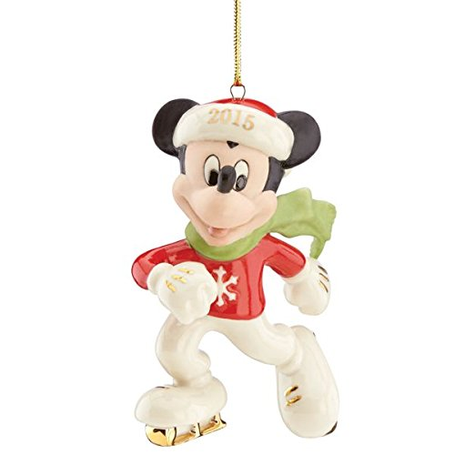 Lenox 2015 Off to the Rink Mickey Mouse Ornament