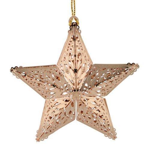 ChemArt 3.25″ Collectible Keepsakes Shining Star Christmas Ornaments