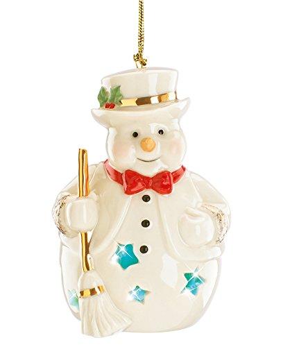 Lenox Exclusive Light Up Snowman Ornament
