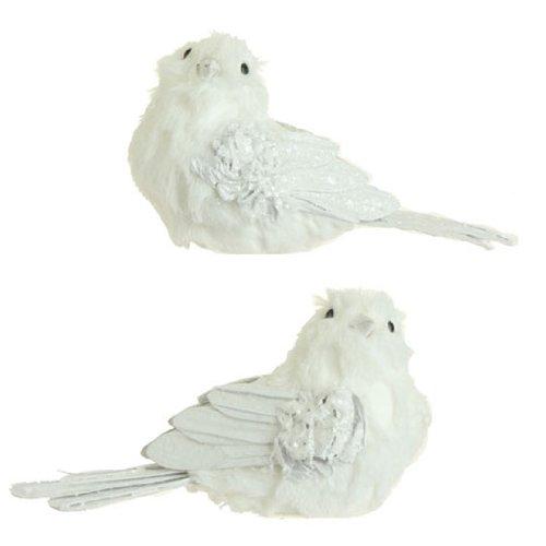 RAZ Imports – 7.5″ Bird Ornaments – Set of 2