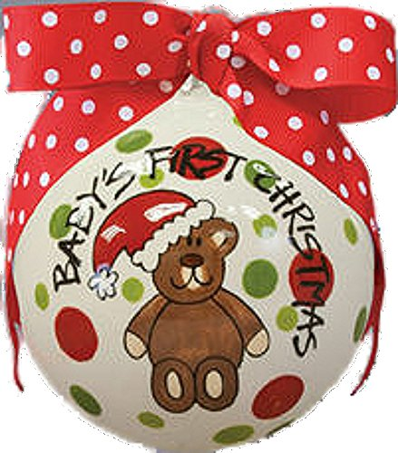 Baby's First Christmas Ceramic Ornament by Magnolia Lane