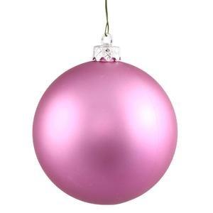 Vickerman 34785 – 2.75″ Orchid Pink Matte Ball Christmas Tree Ornament (12 pack) (N590709DMV)