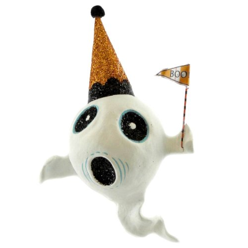 Holiday Ornament GLITTERVILLE SPOOKY KOOKS GM0044 GHOST Ghost Halloween New