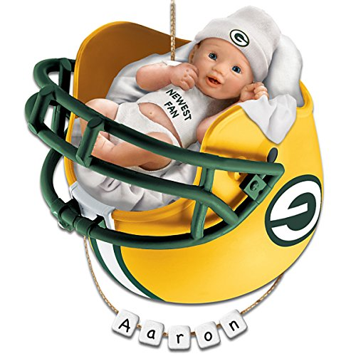 NFL Green Bay Packers Personalized Baby's First Christmas Ornament by The Bradford Exchange