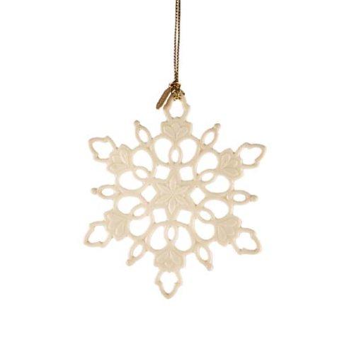 Lenox 2006 Snowfantasies Snowflake Ornament, Pediatric AIDS Foundation