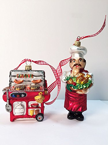 Ornaments to Remember: CHEF & BBQ SET Christmas Ornament