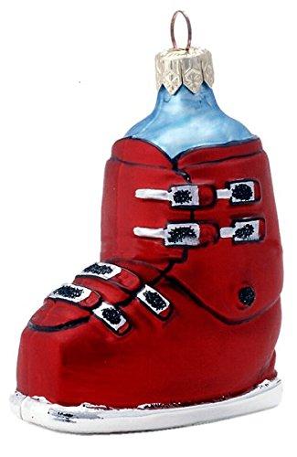 Ski Boot red