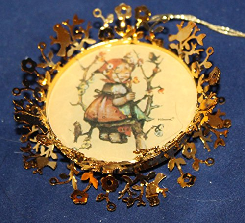 Hummel Gold Christmas Ornament Collection – Apple Tree Girl