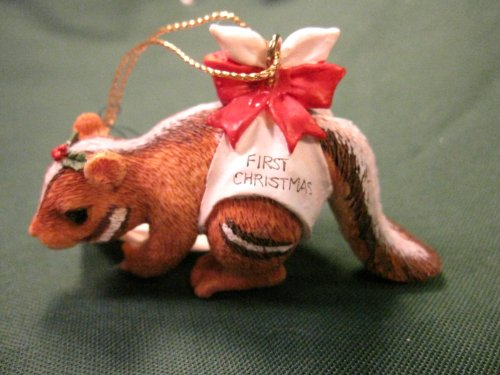 Chauncey's First Christmas, Charming Tails Ornament 86710