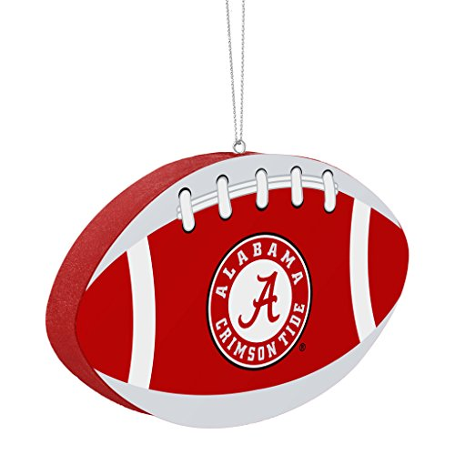 Alabama Crimson Tide Official NCAA 4 inch Foam Christmas Ball Ornament by Forever Collectibles 240575