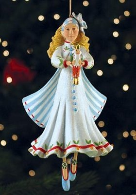 Patience Brewster Krinkles Clara Christmas Ornament from The Nutcracker Ballet