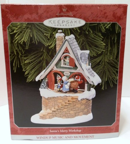 SANTA'S MERRY WORKSHOP HALLMARK music and motion LE