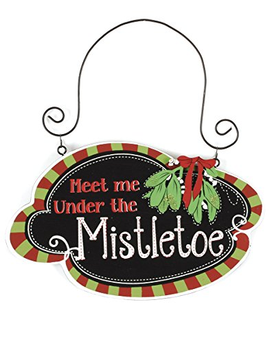 Meet Me Under Mistletoe Ornament