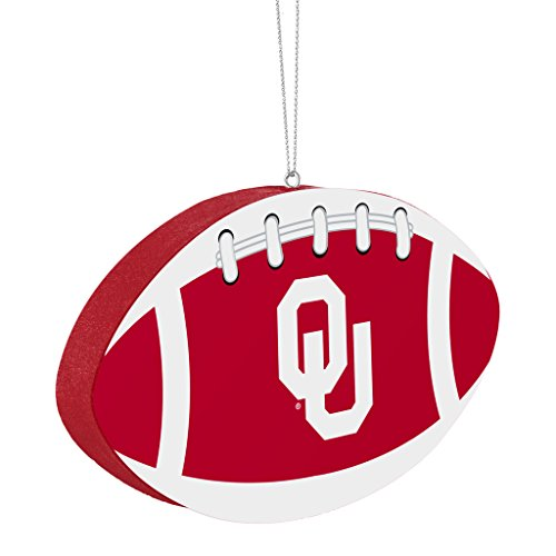 Oklahoma Sooners Official NCAA 4 inch Foam Christmas Ball Ornament by Forever Collectibles 240841