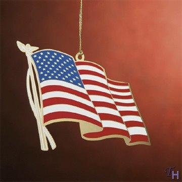 Baldwin 50 Star Flag Ornament