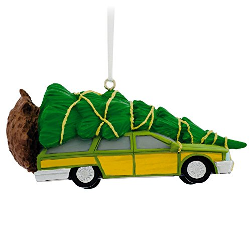 Hallmark Christmas Vacation Station Wagon Christmas Ornament