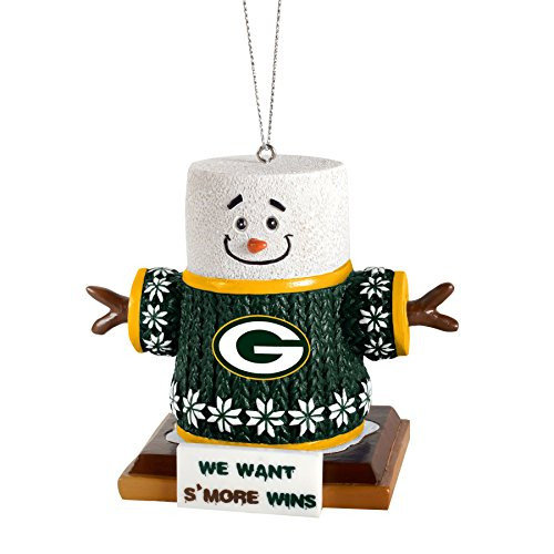 2015 NFL Football Team Logo Smores Holiday Tree Ornament – Pick Team (Green Bay Packers)