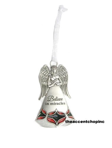 Ganz Nativity Angel Ornament-Believe In Miracles (EX26887)