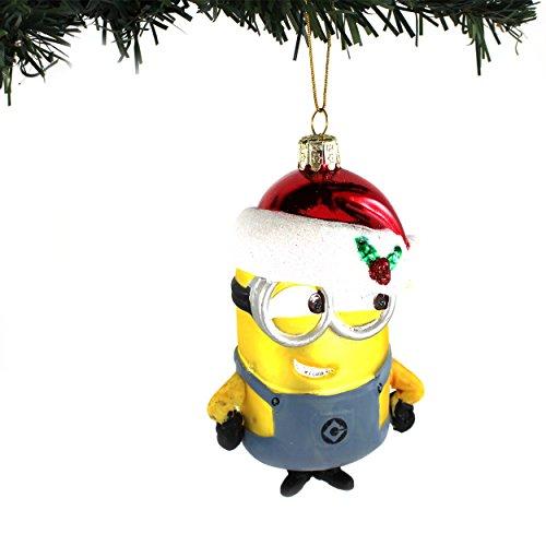 Despicable Me Minions Kurt Adler Glass Ornament (Santa Minion Dave)