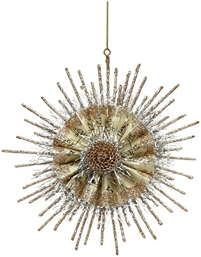 180 Degrees Snowflake Ornament, Gold