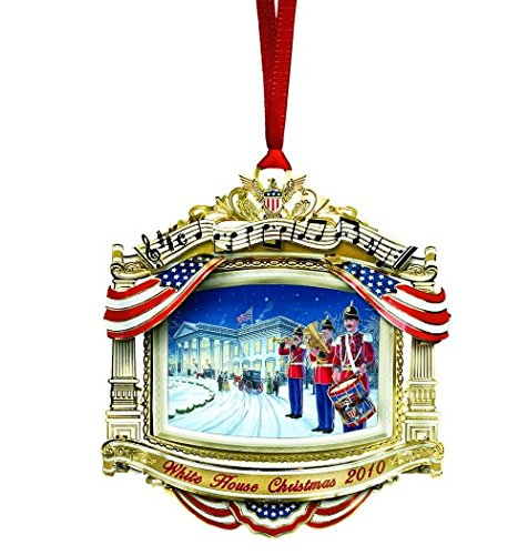 2010 White House Christmas Ornament, The United States Marine Band